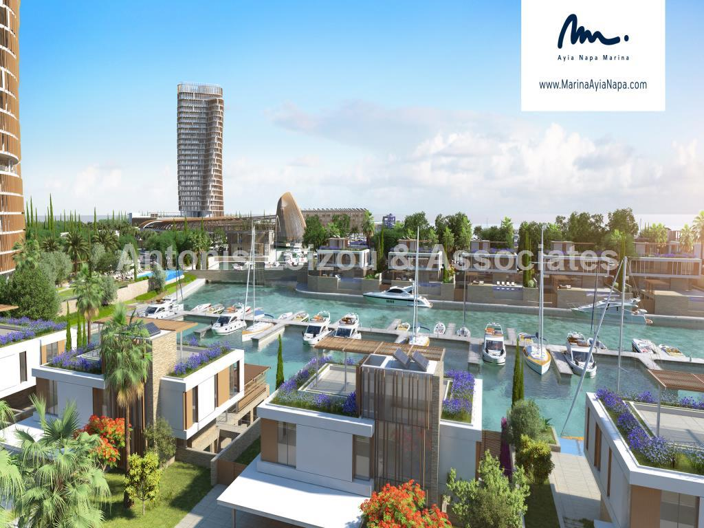 Three Bedroom Beachfront Apartment in Ayia Napa Marina properties for sale in cyprus