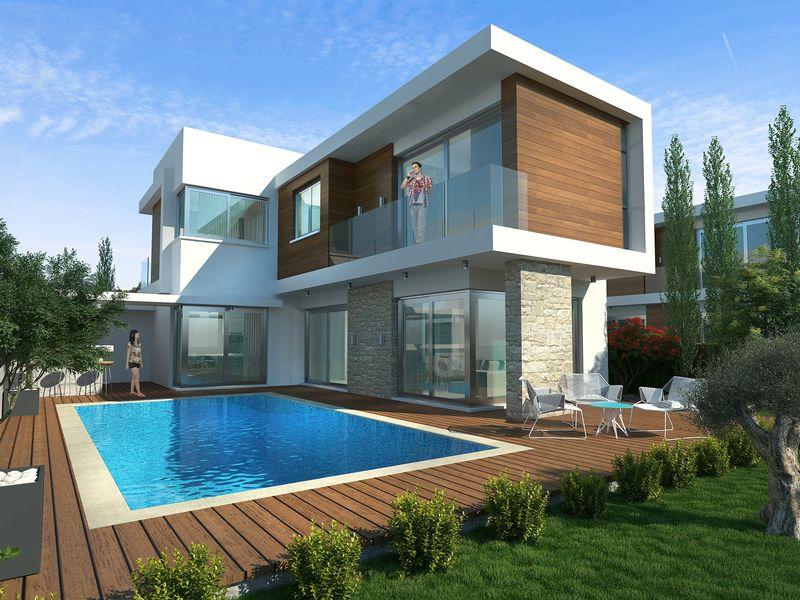 Modern 3 Bedroom Villa near the Marina in Ayia Thekla