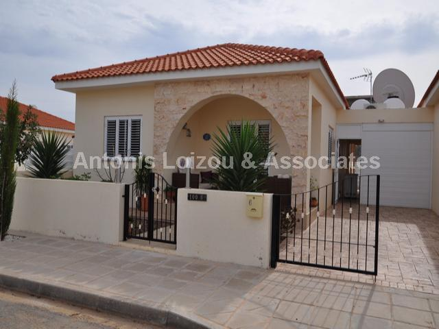 Two Bedroom Link Detached Bungalow in Liopetri