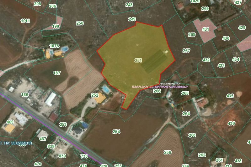 Field in Famagusta (Paralimni) for sale