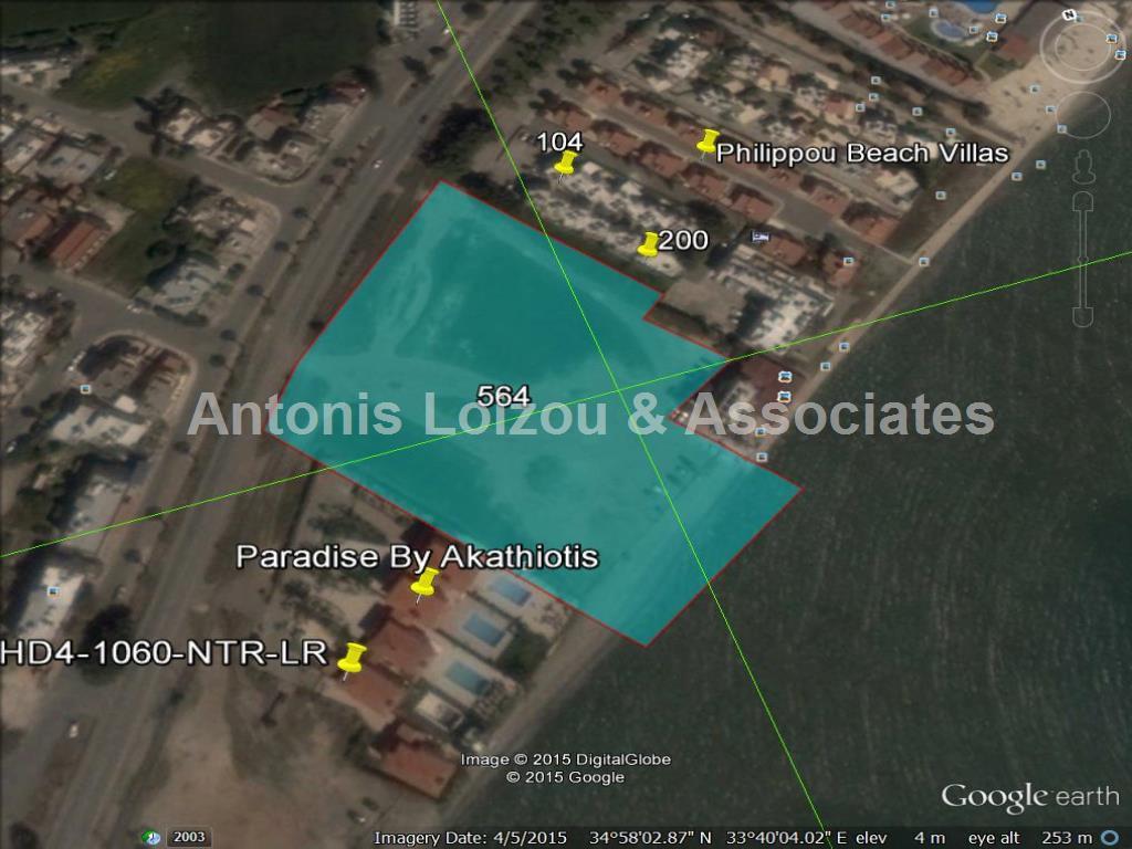 Land in Larnaca (Dhekelia road) for sale