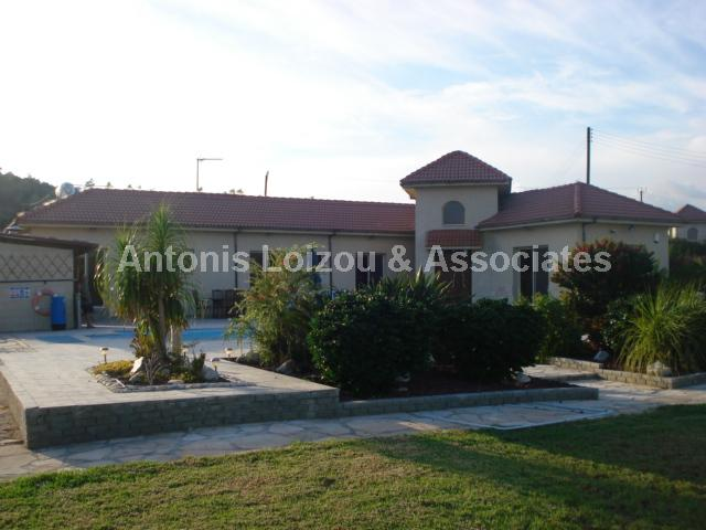 Detached Bungalo in Limassol (Monagroulli) for sale