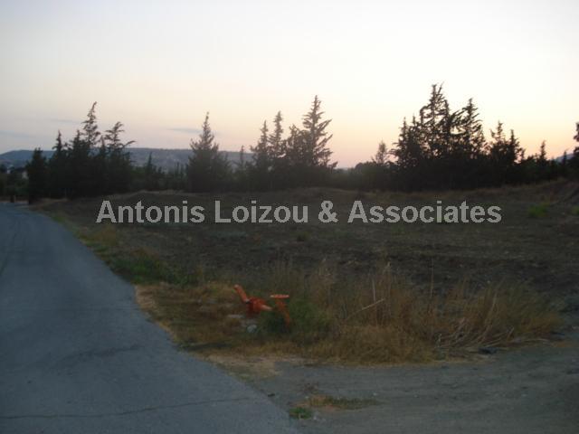 Land in Limassol (Pareklisia) for sale