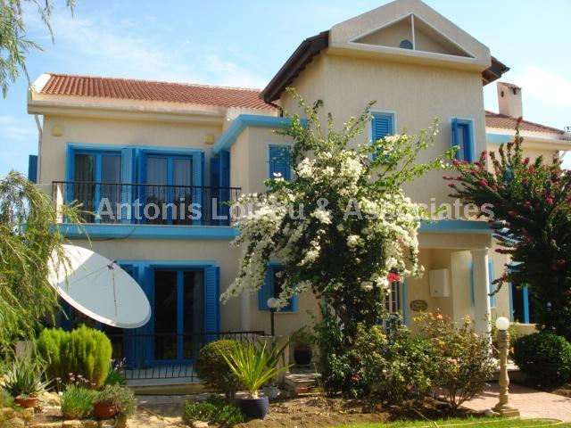 Detached Villa in Limassol (Pyrgos) for sale