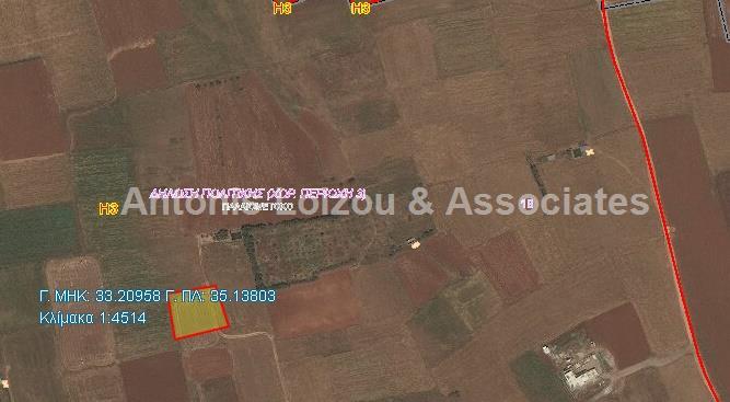 Land in Nicosia (Paliometocho) for sale