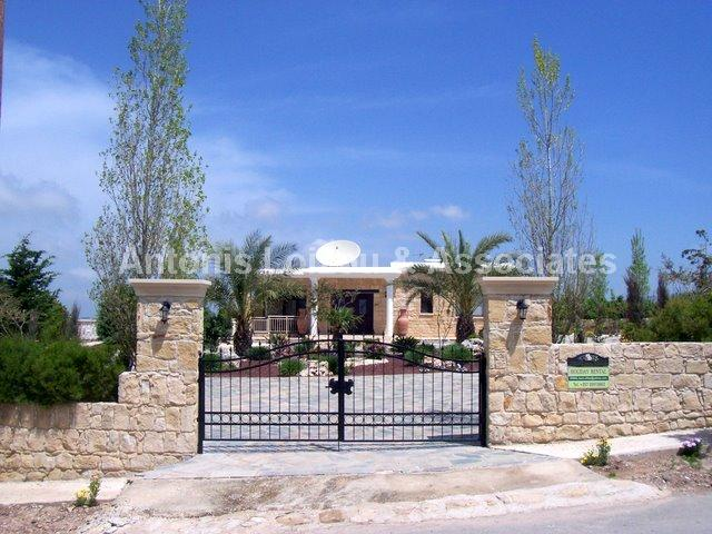 Detached Bungalo in Paphos (Kathikas) for sale