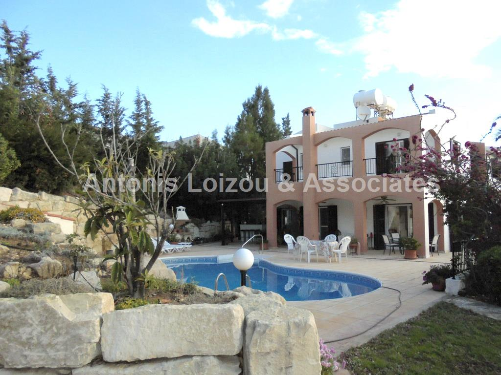 Five Bedroom Detached Villa in Peyia  with self contained Annex
